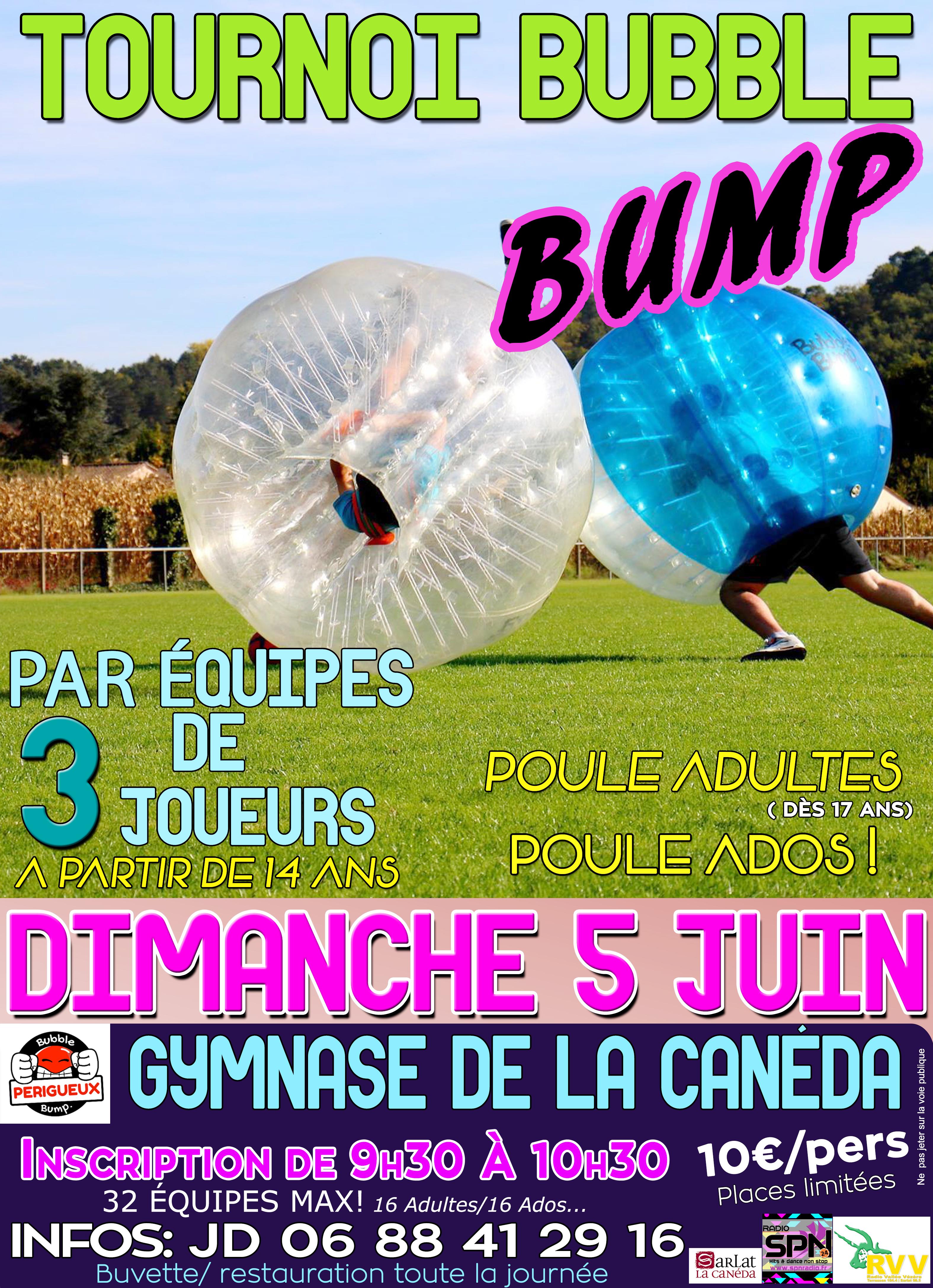 Affiche bubble bump